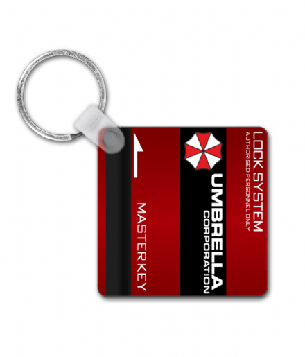 Umbrella Corporation Master Key - Resident Evil Keyring